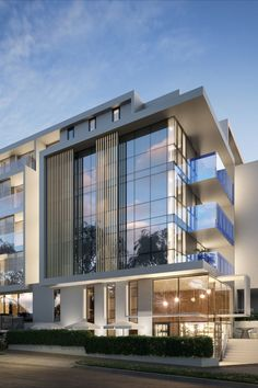 A melbourne modern apartment complex reflects a series of strong architectural facade by C.Kairouz Architects. The structure comprises glass, timber and concrete forms to house 122 apartments spread over 5 levels. Click for more.  #architecture #architecturedetails #apartment #facadedesign #facadearchitecture #modernhousedesign #luxurylifestyle #developer #design #facadedesignhouse #light #garden