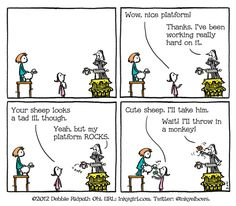 A cautionary comic for aspiring authors andillustrators - Inkygirl: Guide For Kidlit/YA Writers & Artists - via @inkyelbows