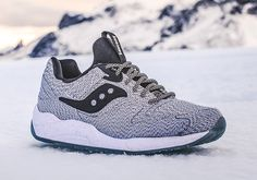 "Saucony Select's ""Dirty Snow"" Release Is Limited To 1,000 Pairs - SneakerNews.com"