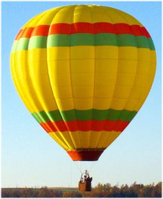Floating majestically above the world in a hot-air balloon is an experience that is unlike anything else.