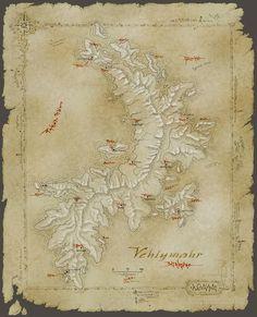 Vehlymahr map by SirInkman.deviantart.com on @DeviantArt