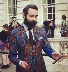 Dant de Men - african Prints Somerset House London Fashion Week