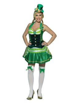 7d8db41c45e0 Saint Patricks Day Costume Shamrock Sweetheart Womens I think this is one  great costume for Saint Patricks day its so cute and sexy and look at the  shoes ...