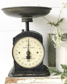 fabulous Vintage kitchen scales Hughes' Family