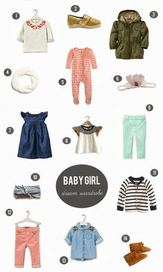 urban nester: if I had all the money in the world baby girl dream wardrobe @ in-the-cornerin-the-corner