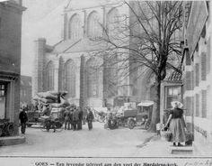 Rondom Magdalenakerk 1924