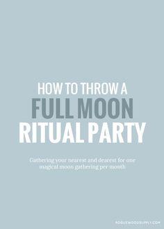 Spaß bei Vollmond: Gemeinsam mit Freunden den Neumond mit kleinen Ritualen feiern. (Suchanfragen für moon gatherings +54 %)