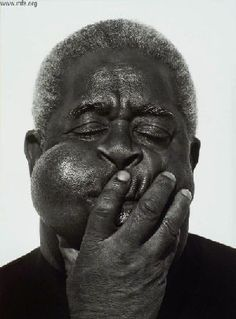 Photo of Dizzy Gillespie by Herb Ritts