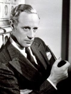 Leslie Howard. So much more than an actor. He enlisted in the British Army when World War I broke out. Since he was too old to serve in World War II, he worked full time in support of the war effort.