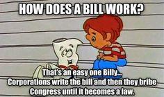 I'm just a bill on Capitol Hill...