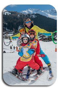 kids group lesson Ski, Group, Skiing