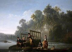 The Fishing Party_Joseph Farington, R.A.