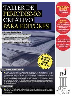 La Red de Periodistas de Juárez me convocó a este taller con colegas de esa ciudad!
