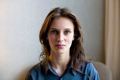 French actress Marine Vacth - inspiration for Viviane