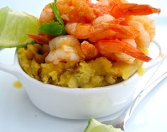Puerto Rican Food - Shrimp Mofongo