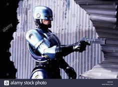 Download this stock image: RoboCop, USA 1987, Director: Paul Verhoeven, Actors/Stars: Peter Weller, Nancy Allen, Dan O'Herlihy - H65Y5X from Alamy's library of millions of high resolution stock photos, illustrations and vectors.