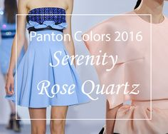 pantone colors for 2016 | Pantone 2016 Colors of The Year: Rose Quartz & Serenity | Fashionisers