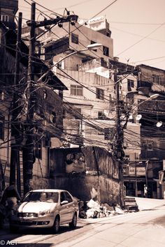 Favela, Rio de Janeiro, Brazil | Oct 2012 3 Point Perspective, Slums, Live Your Life, Cyberpunk, Street Photography, Brazil, Times Square, About Me Blog, In This Moment