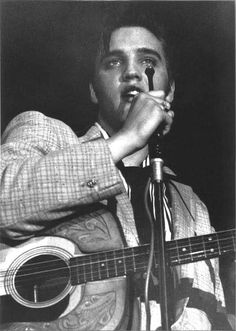 ELVIS, 1956. Photo by Marvin Israel.