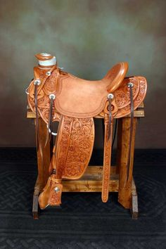 Cary Schwarz Saddle. Traditional Cowboy Artists of America