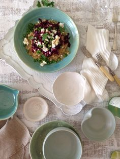 Turquoise plates Clay Creations, Camembert Cheese, Dairy, Pottery, Plates, Turquoise, Food, Ceramics, Licence Plates