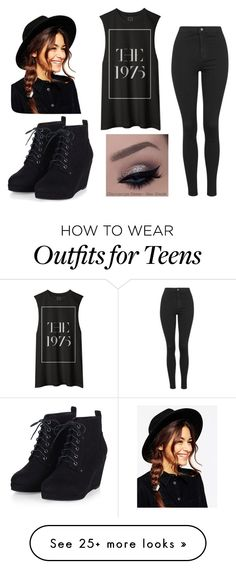 """Untitled #148"" by cuteskyiscute on Polyvore featuring Topshop, ASOS, women's clothing, women, female, woman, misses and juniors"