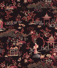 Peony Pavillion B Tana Lawn Cotton | Fabric | Liberty.co.uk