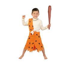 #Disfraz para #niños de #Troglodita #BengBeng. #picapiedra #troglodita