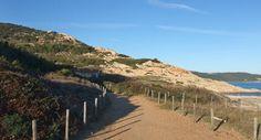 Sentier in Cap d'Antibes - directions