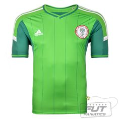 Camisa Adidas Nigéria Home 2014
