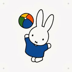 This Girl Lel: IXXI Does Nijntje #miffy #nijntje #decorate #wall #kids #children #ABC #dickbruna #bruna