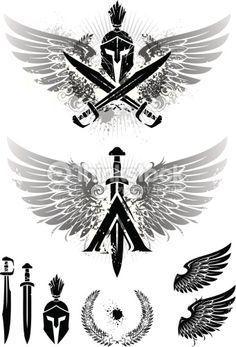 Resultado de imagen para spartan 300 tattoo sleeve