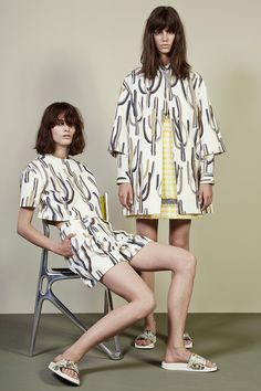 MSGM   Resort 2015 Collection   Style.com CACTUS PRINT THATS MORE LIKE IT!