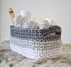 In every house, baskets are main storage for toys, yarns, towels etc.