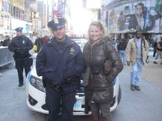 One of NY's Finest gladly took a photo with me!