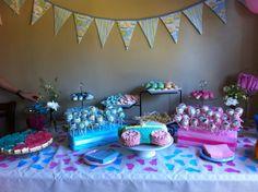 Baby shower bunting Baby Shower Bunting, Birthday Cake, Desserts, Cakes, Food, Tailgate Desserts, Birthday Cakes, Deserts, Essen