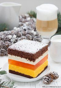 Ciasto pomarańczowo kawowe