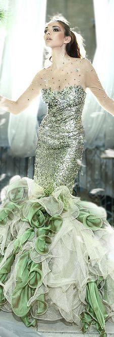 Everywhere Glam, Everywhere Gorgeous Divas #elegant  #dress #gown