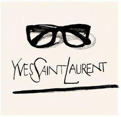 Yves Saint Laurent- Fashion Illustrator Patrick Morgan