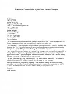 examples of resume cover letters generic examples - Cover Letter For A Resume Example