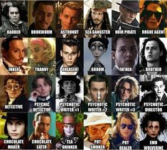 He is truly one of the most versatile actors of this generation doesn't matter if you hate him or not.
