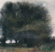 Kurt Jackson - I love the way he captures those moody Cornish trees
