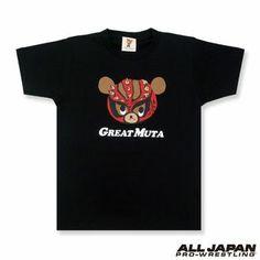 PSP Muto ベアーグレート Muta T-shirt (black)