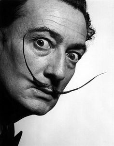 Second graders explored some of the works by Surrealist painter, Salvador Dali. Recognized by his extremely long, unusual mustache, Dali. Famous Mustaches, Yousuf Karsh, Tomie Ohtake, Philippe Halsman, Famous Portraits, Celebrity Portraits, Surreal Portraits, Iconic Photos, Paintings