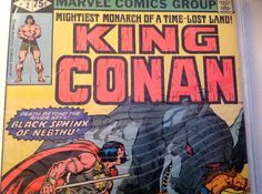 King Conan (2) Vintage Marvel Comic Book - Fantasy Adventure by VinylRocket #TrendingEtsy