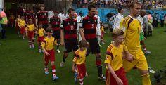 Deutsche Nationalmannschaft at the Itaipava Arena Pernambuco - Recife, Brazil World Cup 2014 Germany 1 - USA 0
