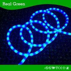3 8 led rope lighting 120v. 120v 3-wires blue green chasing led rope light,led neon light, 3 8 led lighting 120v