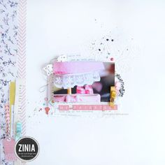 Hello crafty peeps today I'm on @theinkroad blog sharing another layout using a bunch of different supplies. I even had some fun making my own embellishments out of ribbon and mists. Make sure to stop by my blog as well http://ift.tt/1McnCfL (for a full list of the supplies I used). Also as always you can check the process video on my YouTube channel (search Abstract Inspiration). If you are planning to grab some lovely scrapbooking goodies check @theinkroad shop and get yourself a 10%…