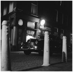 Night Scene façade jazz cafe Bohemia at the Looiersgracht with © Hans Buter Jazz Cafe, Facade, Scene, Night, Photography, Image, Rat Rods, Shadows, Masters