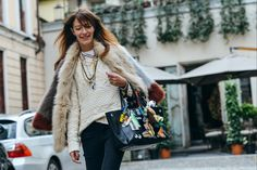 42 Beautiful Outfit 2015 - Tommy Ton Shoots the Best Street Style at the Fall Shows New York Fashion Week Street Style, Fashion Week 2015, Street Style Trends, Spring Street Style, Cool Street Fashion, Street Chic, Street Styles, Street Wear, Tommy Ton